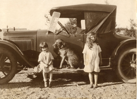 Becca, Rags and Nancy—about 1923