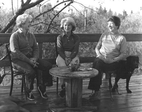 Nancy, Becca and D.J.