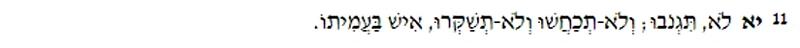 Lev 19:11
