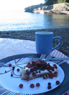 Laughing Brook breakfast