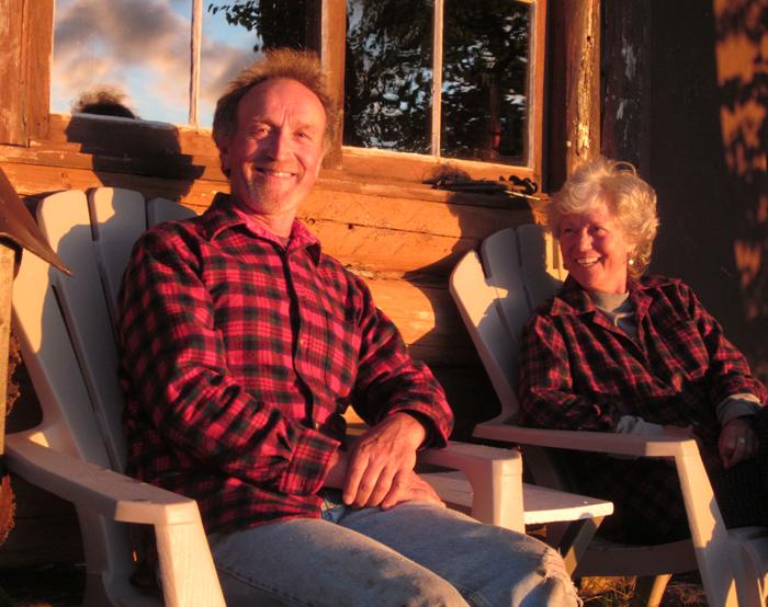 Ron and Angela at Laughing Brook