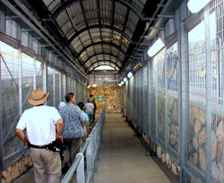 Passage into Israel