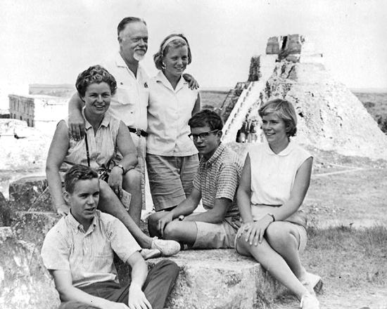 Frank Seiberling Jr.'s family