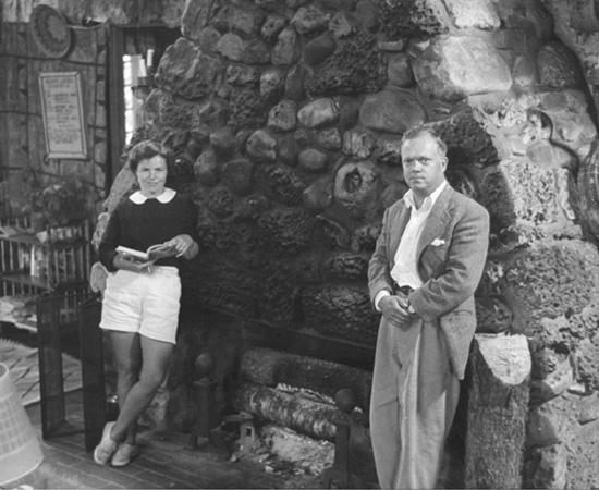 Nancy & Frank Seiberling Jr. at Cedar Lodge
