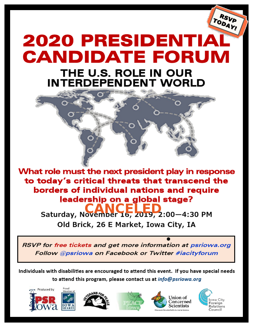 November Candidate Forum
